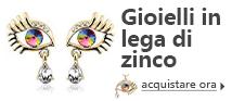 Lo zinco in lega European Beads